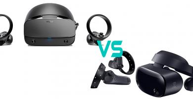 Comparativa Oculus Rift S vs Samsung Odessey plus